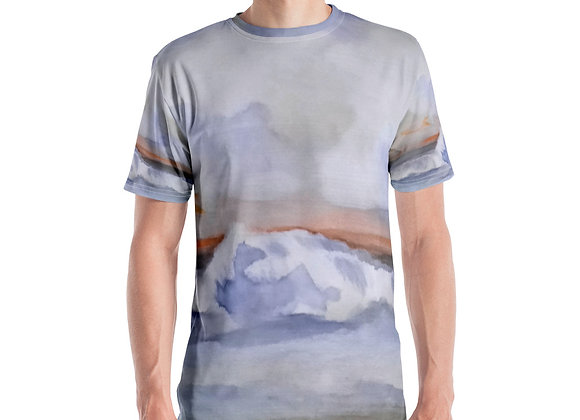 Pacific Waves Goodbye #1 Men's T-shirt