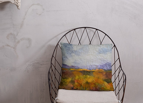 California Provence Square Pillow