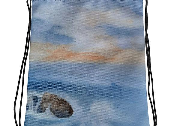 Sunset2 Drawstring bag