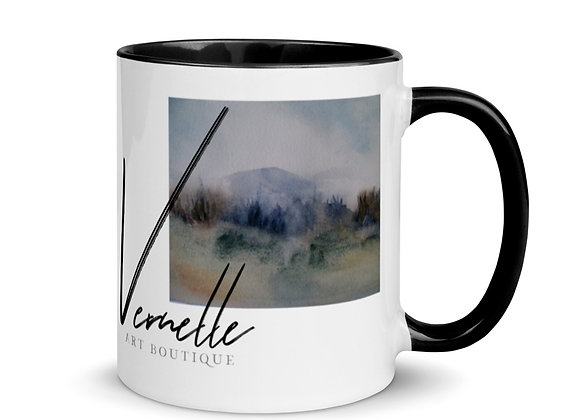 The Little Mountain Mug with Color Inside