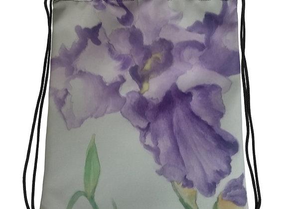 Iris Drawstring bag