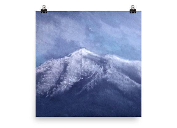 Tava In The Snow Digital Print