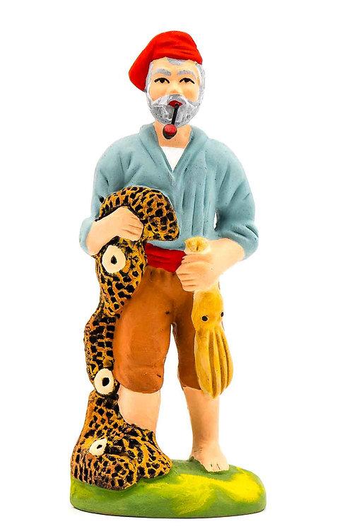 Vieux pêcheur au poulpe N°3