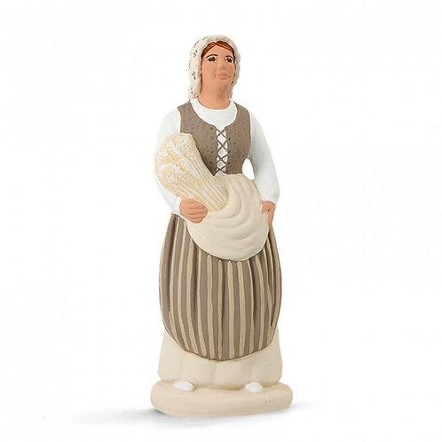 Paysanne Marseillaise Blanc 12cm