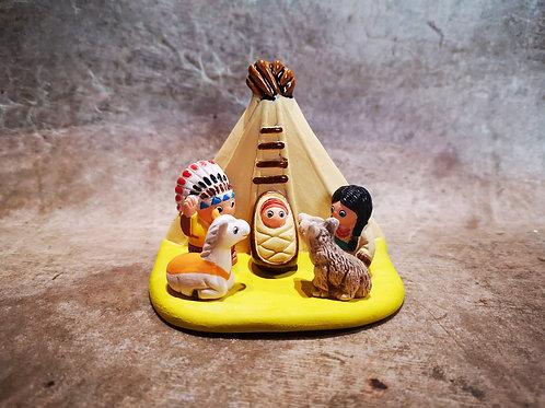 Crèche du Monde - Apache