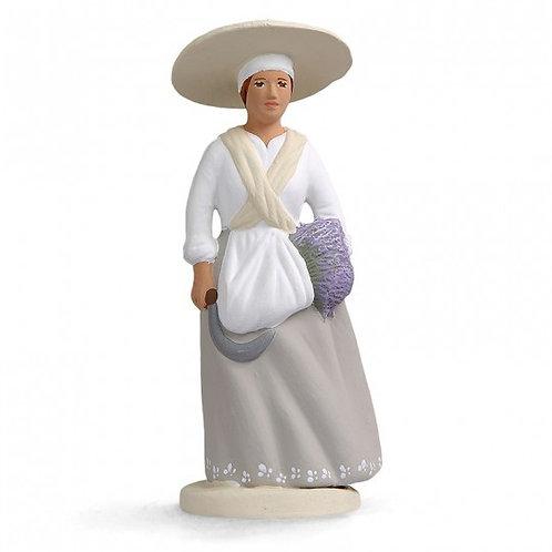 Femme à la Lavande Blanc 12cm