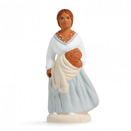 Femme à la Lavande Blanc 7cm