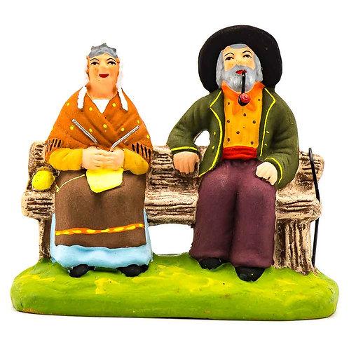 Couple sur le banc N°2