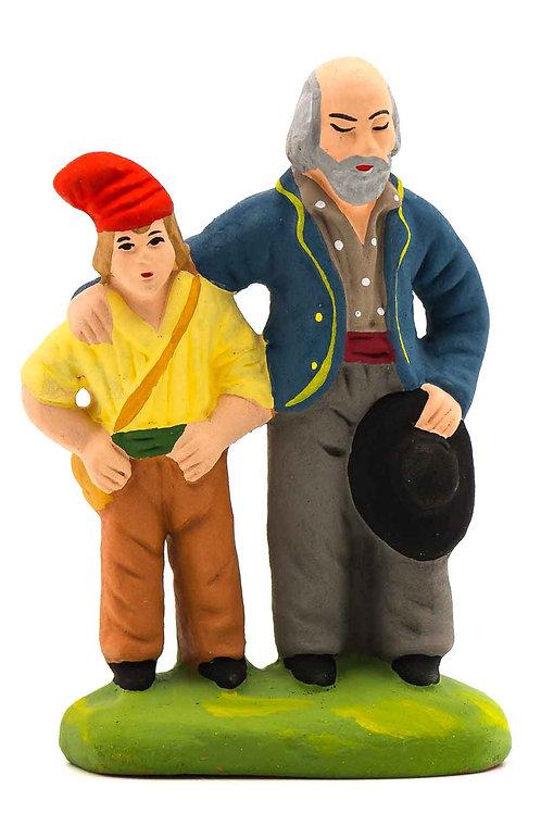 Aveugle et son fils N°2
