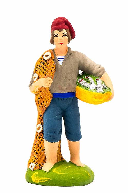 Pêcheur au filet N°3