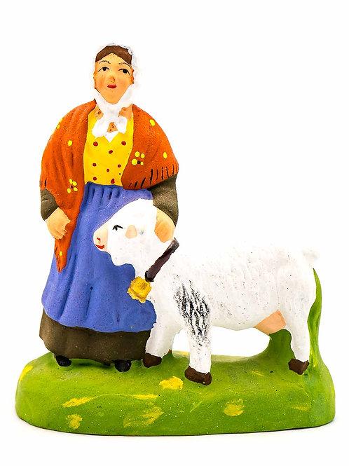 Femme à la chèvre N°2