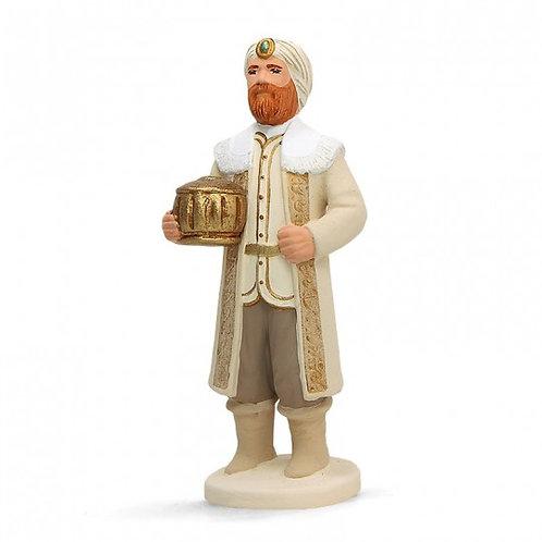 Roi blanc Blanc 12cm