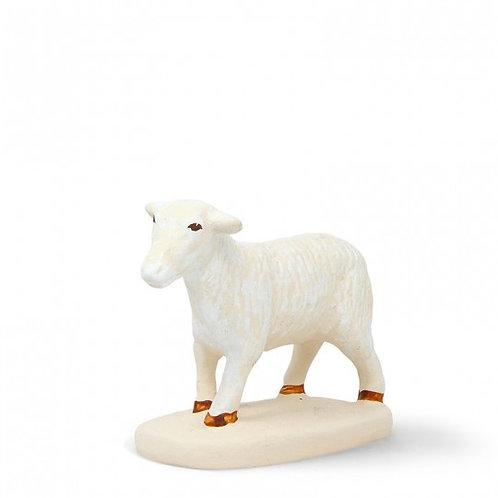 Mouton debout Blanc 12cm