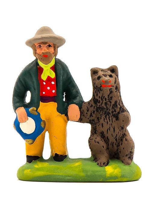 Gitan à l'ours Puce