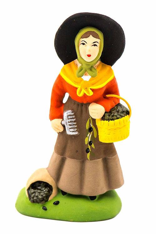 Cueilleuse d'olives N°2