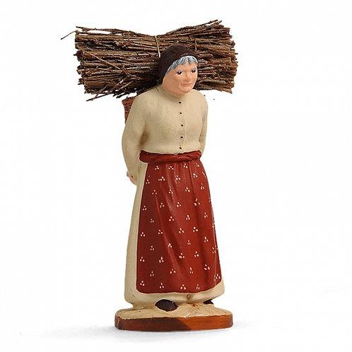 Femme au Fagot Couleur 7cm