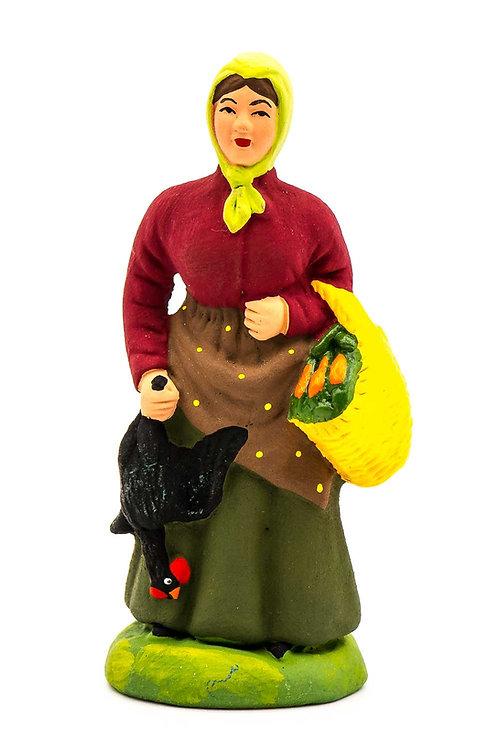 Femme à la Poule N°3