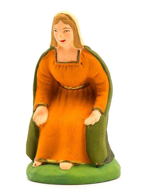 Vierge assise N°2