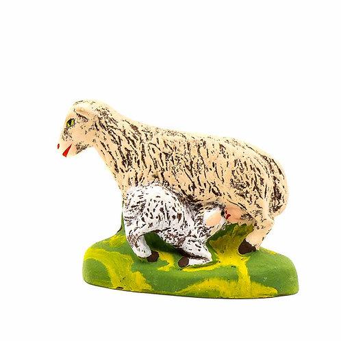 Brebis à l'agneau N°3