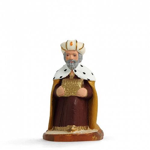 Roi à genoux Couleur 7cm