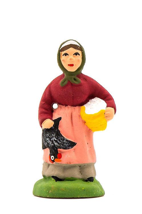 Femme à la Poule N°1