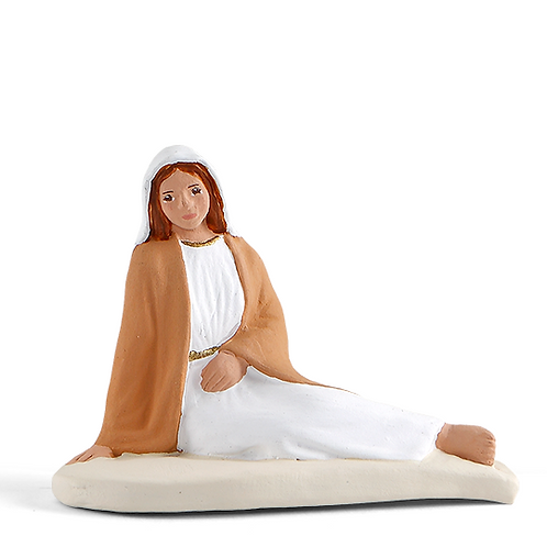 Marie allongée Blanc 7cm