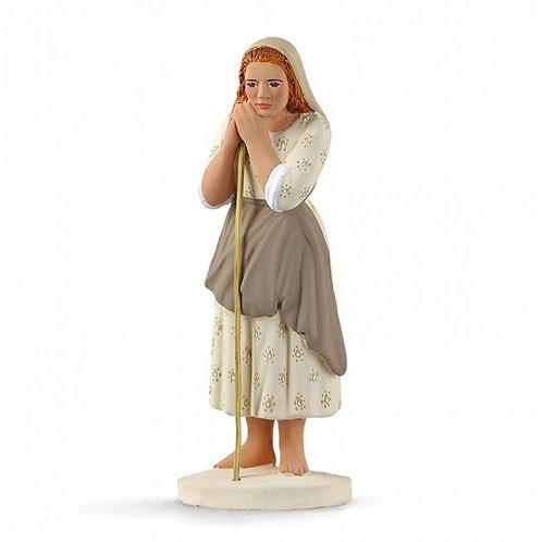 Bergère Jeune Blanc 12cm