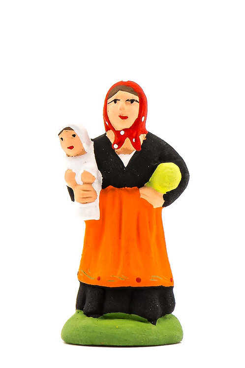 Femme au Bébé N°1