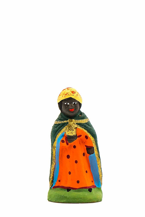 Roi noir Puce