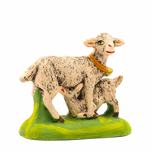 Chèvre au chevreau N°3