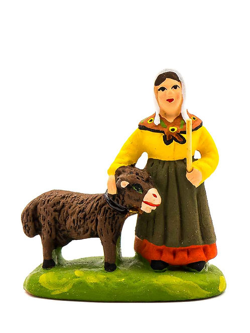 Femme à la chèvre N°1