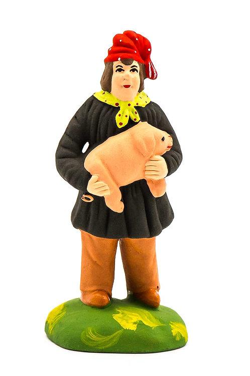 Homme au Cochon N°3