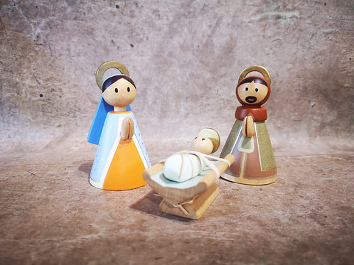 Nativité Bois doré