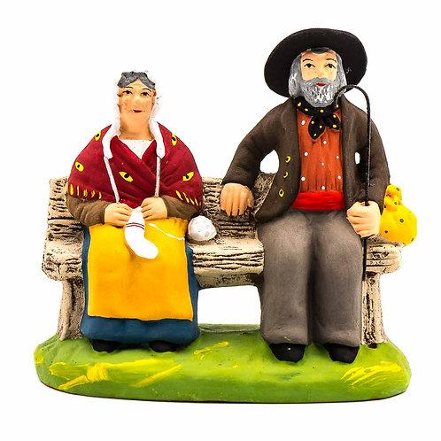 Couple sur le banc N°3
