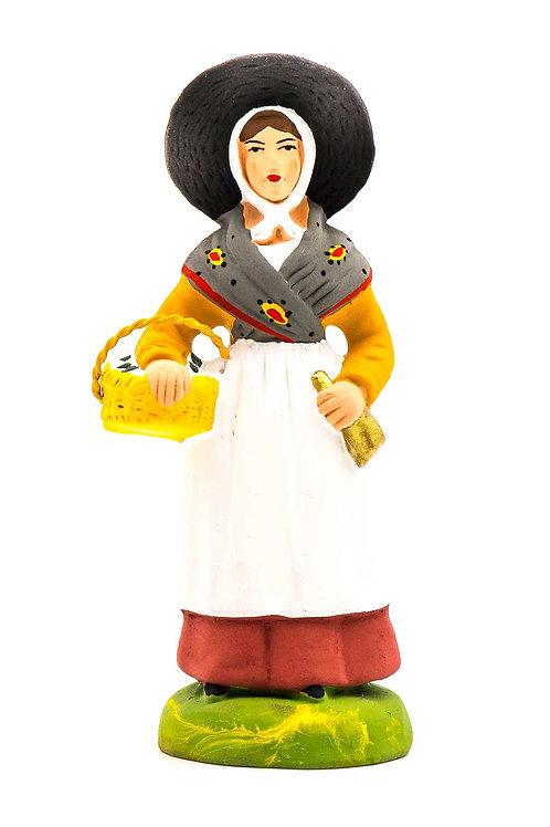 Femme à la Brousse N°3