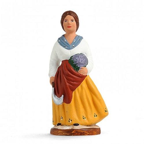 Femme à la Lavande Couleur 7cm