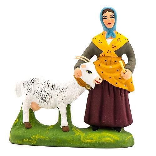 Femme à la chèvre N°3