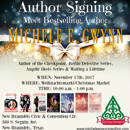 Book signing tour for my latest work