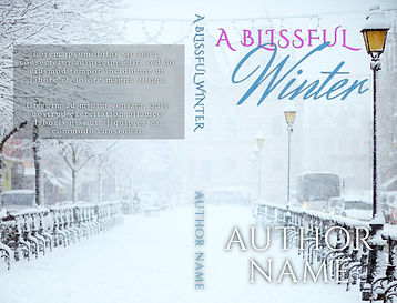 A Blissful Winter paperback BookBrushIma