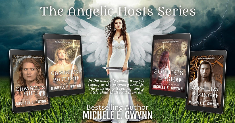 Angelic Hosts Series NEW covers reveal t