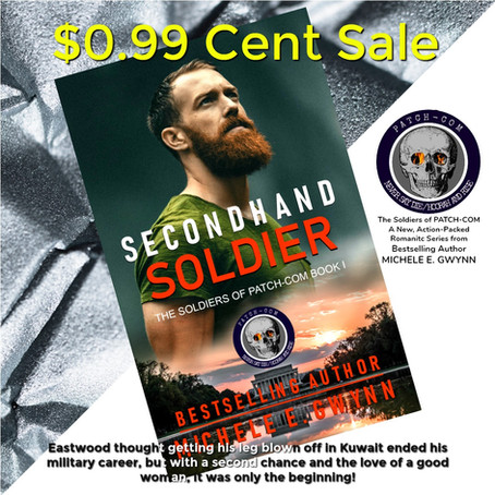 $0.99 Sale on Secondhand Soldier!