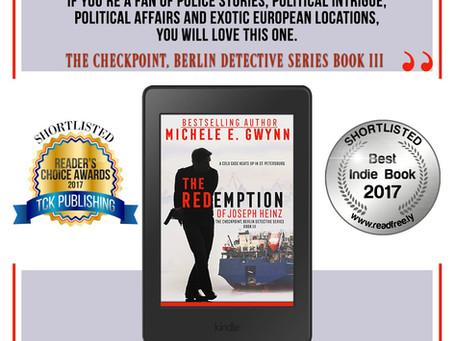 Reader's Choice Shortlists Nominate Redemption