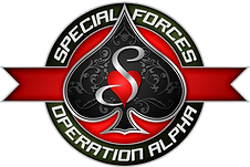 Special Forces Logo Treatment Button Sma
