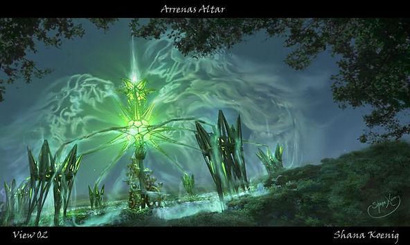 Araneas Altar01 by Shana Koenig