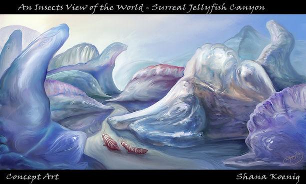 Jellyfish Canyon by Shana Koenig