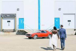 Edmonton urban Wedding