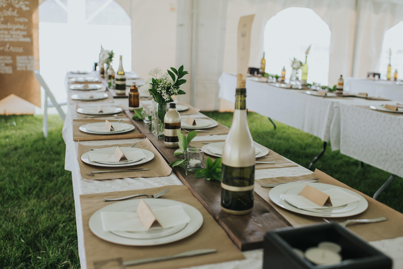 Greenery Tent Wedding Edmonton