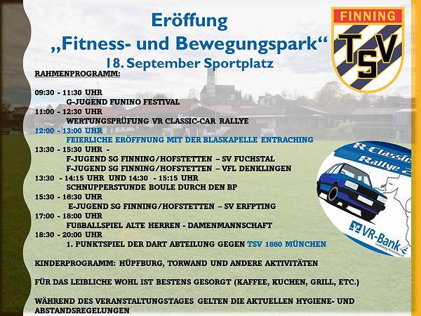 Eröffnung Fitness- und Bewegungspark