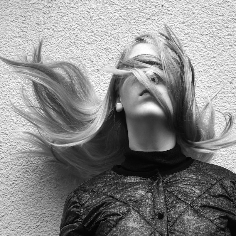 person-black-and-white-girl-woman-hair-p