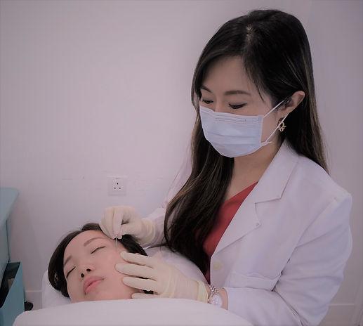 VITALAGE, 挑針, 皮下分離術, Subcision Treatment